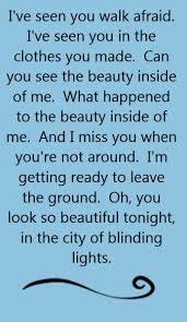 City Of Lights Song Lyrics U2 City Of Blinding Lights Song Lyrics Song Quotes
