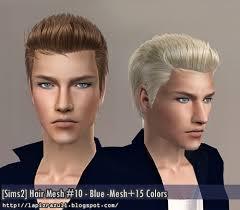 Pánský účes Ts2 The Sims