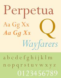 Perpetua Titling Light Perpetua Typeface Wikipedia