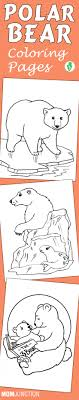 10 Cute Polar Bear Coloring Pages