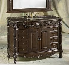 single vanity cabinet. Exellent Single Bathroom Sink Cabinet Ideas  Single Vanities 37 48 Inches With Vanity N