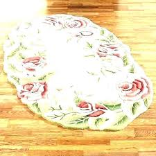 oval bath rugs bathroom rug fl small