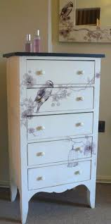 diy decoupage furniture. Cream Bird Design Tallboy £254.95 From Melody Maison. Diy Decoupage Furniture