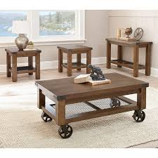 coffee table 3 piece coffee table sets under 200 rustic coffee table sets with storage