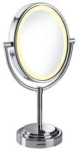 <b>Зеркало косметическое настольное</b> BaByliss 8437Е с подсветкой ...