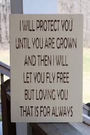 Small Picture Mothers Wood Sign Mothers Day Gift I Will Protect You Loving