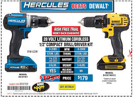 harbor freight hammer drill. new items - 20v lithium cordless 1/2 in. compact drill/driver kit harbor freight hammer drill