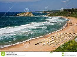 Sile Strand, Istanbul, Die Türkei Stockbild - Bild von panoramisch, weit:  13810451
