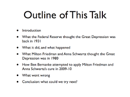 the great depression from the perspective of today and today from great depression ourselves in an economy that is not just depressed but profoundly depressed and depressed not for a year or two but for more