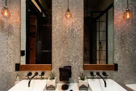 eclectic lighting fixtures. Hamilton - Eclectic Industrial Contemporary-bathroom Lighting Fixtures U