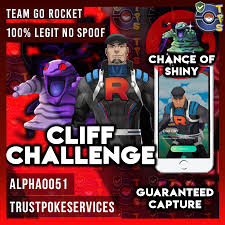100% LEGIT NO SPOOF]Pokemon Go Team Go Rocket - Cliff Challenge - Trust  Poke Services