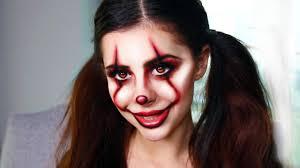 more last minute diy costume makeup ideas it pennywise clown tutorial