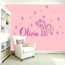 my little pony wall decals girl bedroom wall stickers awesome girls name bedroom wall art decal my little pony wall decals