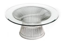 Image Oval Dining Iconic Interiors Warren Platner Coffee Table