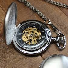pocket watches engraved groomsmen gifts personalized gifts for personalized pocket watch brushed chrome mechanical pocket watch black and gold face engraved groomsmen gift best man fathers day