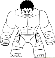 Who doesn't know the hulk yet? Lego The Hulk Coloring Page For Kids Free Lego Printable Coloring Pages Online For Kids Coloringpages101 Com Coloring Pages For Kids