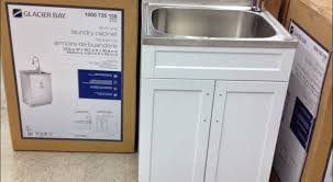 home depot utility sink stainless steel ideas glacier bay