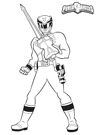Power Rangers Color Pages Power Rangers Charge Coloring Pages