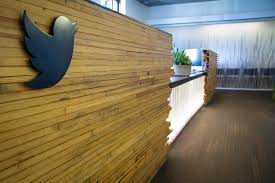 twitter office. Twitter HQ: Reception Desk | By @Twitter Office