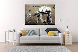 This work has a bit of mystery to it. Amazon Com Banksy Street Graffiti Star Wars I Am Your Father Hd Vinyl Wall Art Poster Decal Sticker Home Kitchen