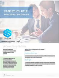 Case Study Template 40 Case Study Template Ideas To Showcase Your Companys Success