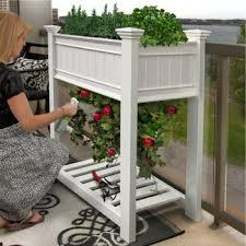 outdoor planter boxes. Vinyl Planter Boxes \u0026 Garden Beds Outdoor