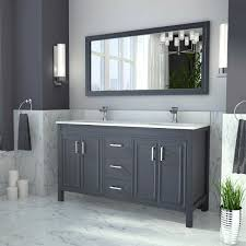 gray double sink vanity. gray double sink vanity by studio bathe. item #1114109. click to zoom l