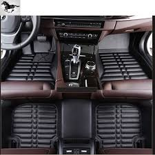 Topmats full set leather car mats suv mats floor liner floor mat ...