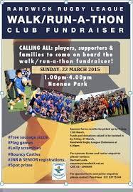 Walk Run A Thon Club Fundraiser Randwick Kingfishers Rugby League