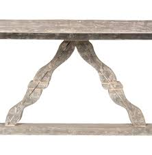 indoor outdoor dining table. ronald french country indoor outdoor distressed grey dining table | kathy kuo home