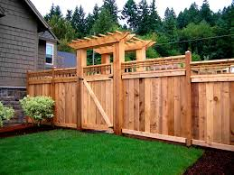 security fence ideas for front
