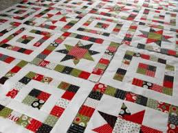 DIY Lovely Starry Eyed Patchwork Quilt & ... Quilt0 DIY Patchwork Quilt01 Adamdwight.com