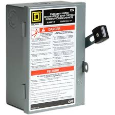 shop square d 30 amp fusible metallic disconnect at lowes com square d 30 amp fusible metallic disconnect