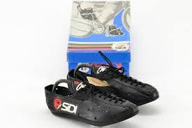 nos sidi professional italian kangaroo leather cycling shoes