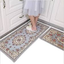 1pcs 45x120cm mat door carpet nice home decor bathroom rugs fleece anti slip kitchen mat
