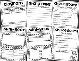 Non Fiction Choice Board Activities Menu Tic Tac Toe Reading Response
