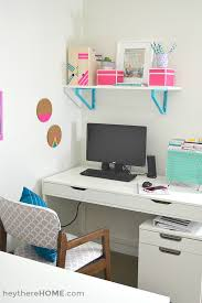 office space at home. We Finally Have An Organized And Creative Shared Office Space Craft Room! At Home