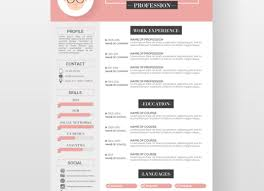 Free Beautiful Resume Templates Best 25 Cv Template Ideas On