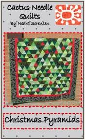 Quilting Blog - Cactus Needle Quilts, Fabric and More: Christmas ... & Christmas Pyramids Quilt Adamdwight.com