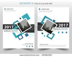 blue square annual report leaflet brochure flyer template design book cover layout design abstract
