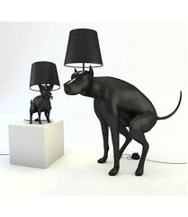 replica ing dog table lamps small