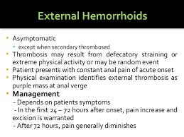 Hemorrhoid Size Chart Hemorrhoids