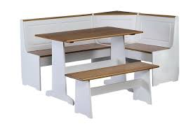 White Bench For Kitchen Table White Kitchen Table With Bench Home Design Ideas
