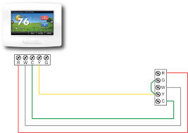 4 wire thermostat diagram 4 wiring diagrams online add a wire diagram