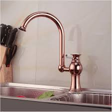 vintage antique rose gold kitchen faucet copper rose gold kitchen
