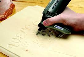 wood carving with dremel