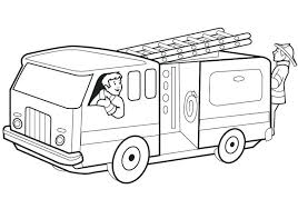Free Fire Prevention Coloring Books Great Free Printable Fire Truck