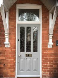 front doors. Simple Front Edwardian Entrance Door Painted In Farrow U0026 Ballu0027s Manor House Grey  A  Very Modern Colour For Front Doors