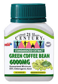 green coffee bean extract 6000mg 60 capsules