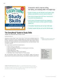 the everything guide to study skills cynthia muchnick e study skills